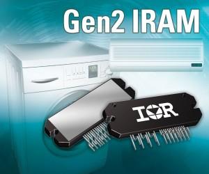 IR推出第二代智能功率模块系列,缩小和简化家电电机驱动器设计